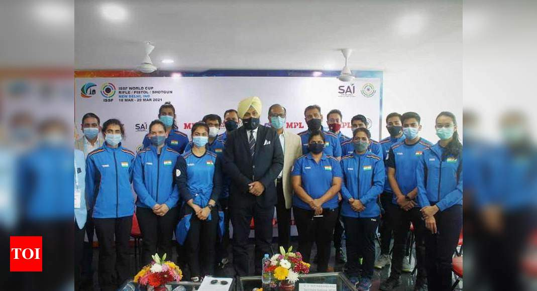 India's shooting contingent for Tokyo Olympics to be picked on Sunday afternoon | Tokyo Olympics News – Times of India