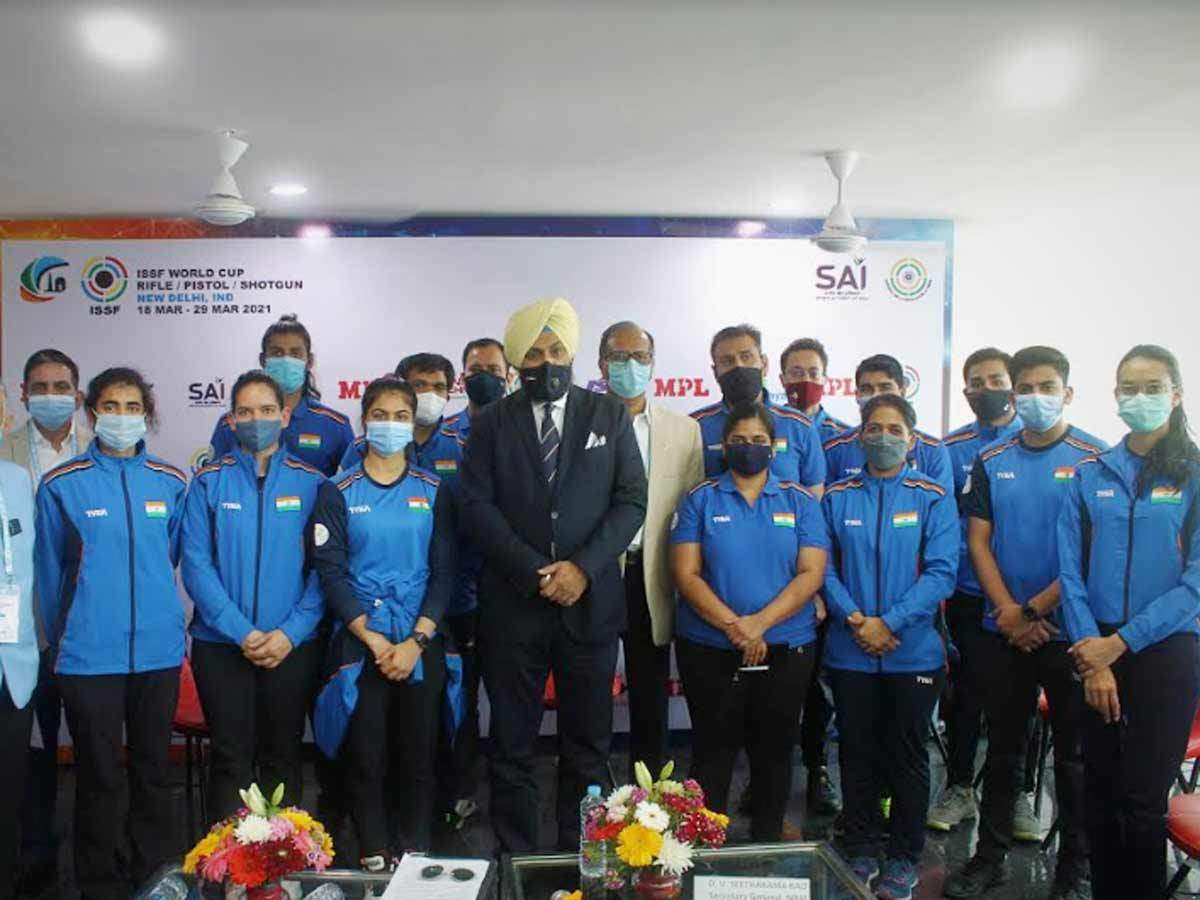 India's shooting contingent for Tokyo Olympics to be picked on Sunday  afternoon | Tokyo Olympics News - Times of India