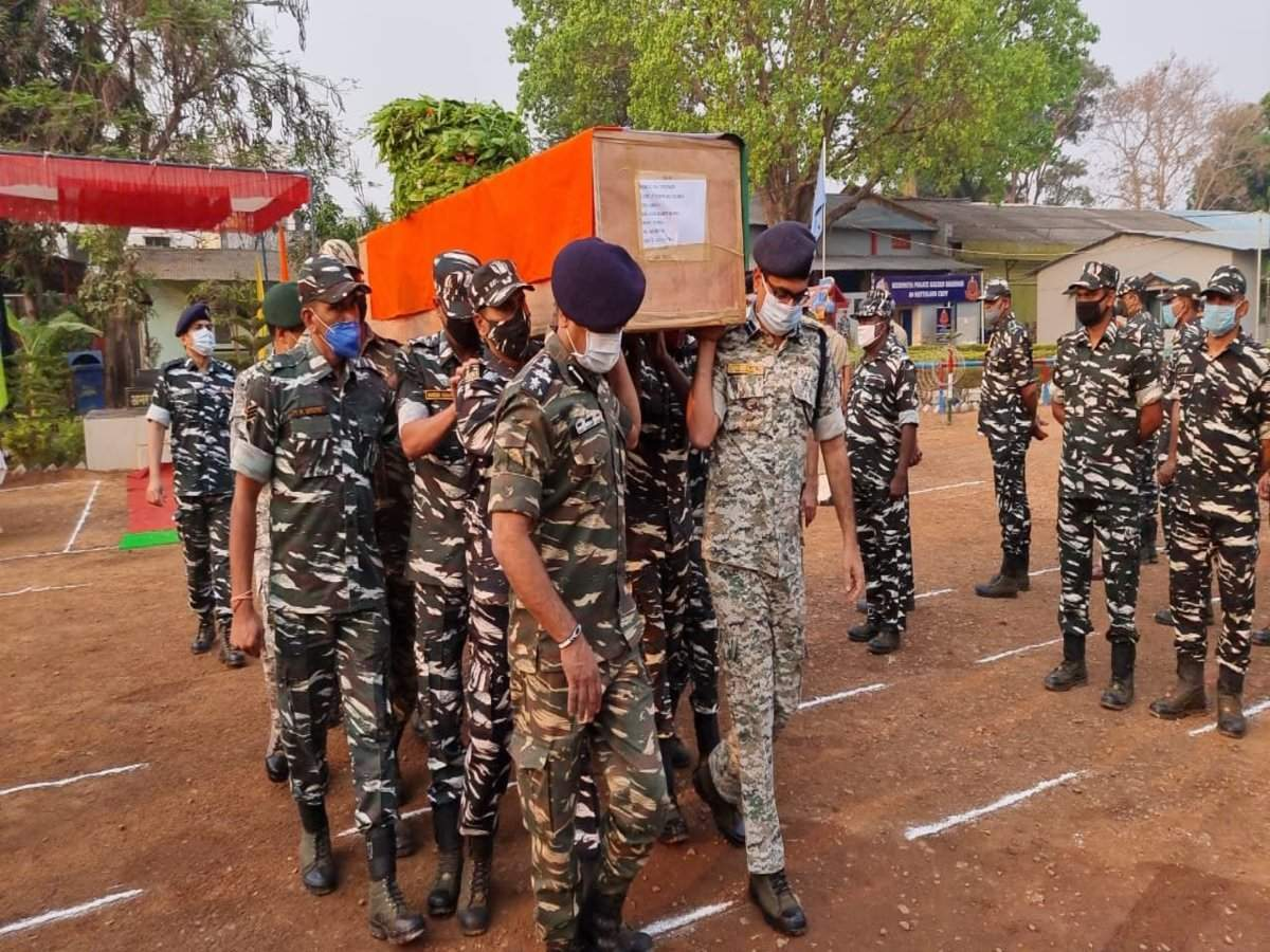 Crime News - Maoists Attack Police In Chatteesgarh