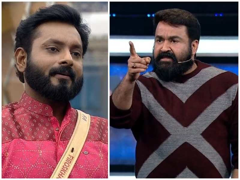 Bigg Boss Malayalam 3: Host Mohanlal grills Kidilam Firoz for 'self-nomination'
