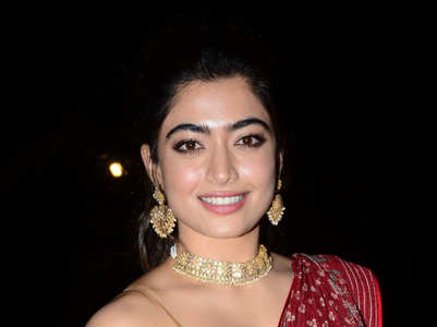 10 Best Saree Looks of Rashmika Mandanna