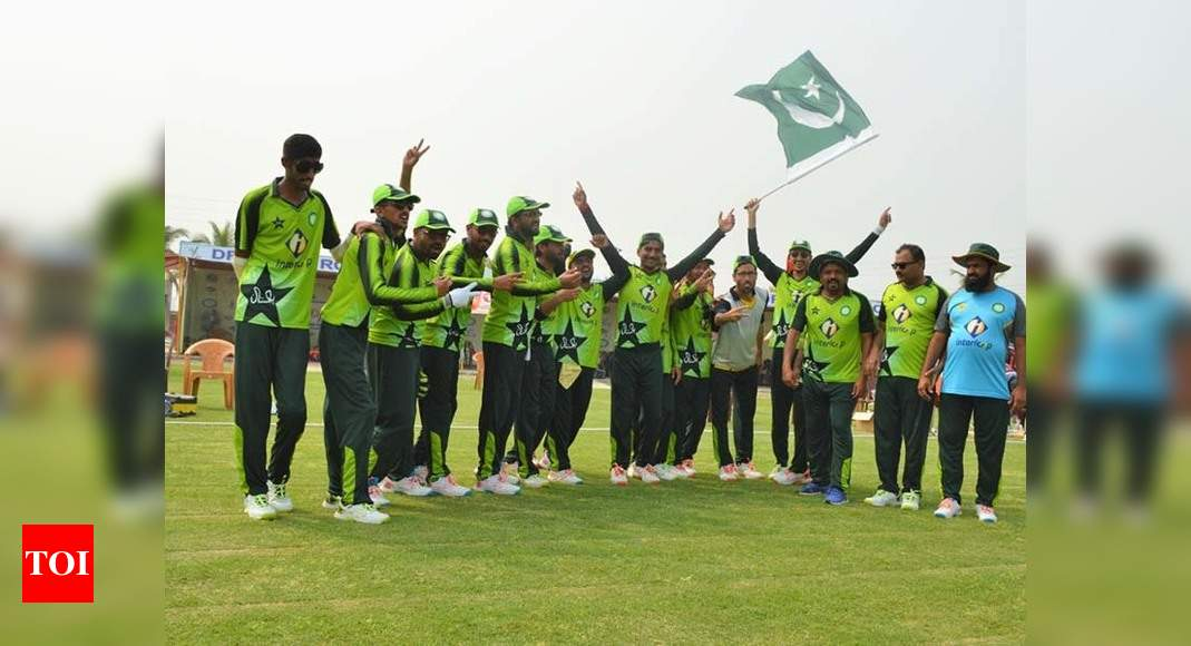 Pakistan defeat India, win Tri-Nation Series for Blind 2021 | Cricket News – Times of India