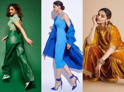 Deepika Padukone's monotone outfits