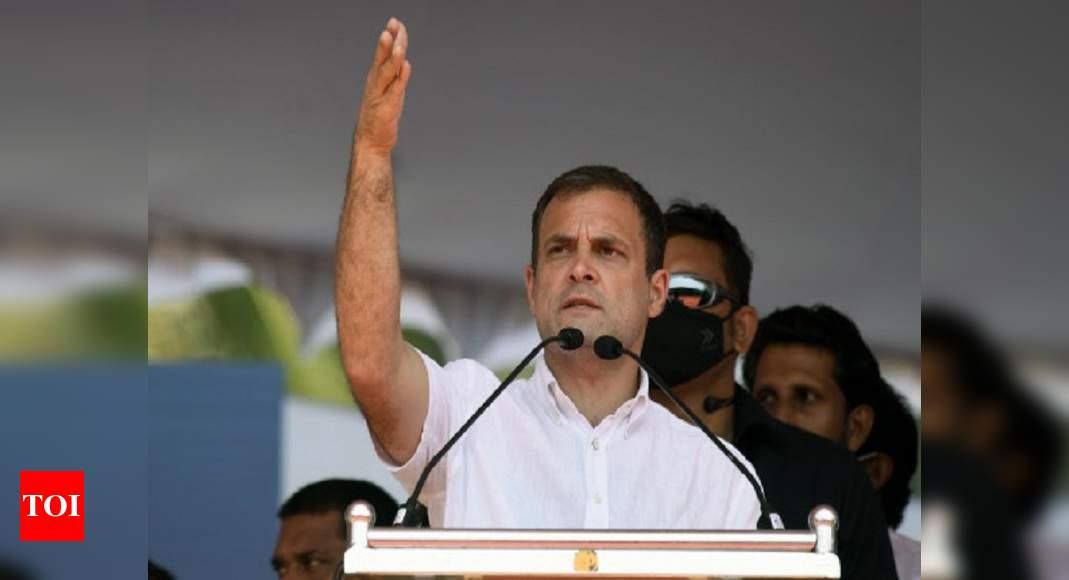 Chhattisgarh anti-Maoist operation was poorly designed: Rahul Gandhi | India News – Times of India