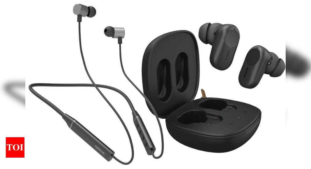 Nokia Bluetooth Headset T2000, ANC T3110 true wireless earbuds launched in India – Times of India