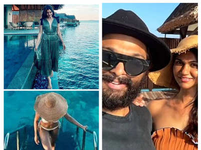 Tollywood celebs who took a Maldives vacay