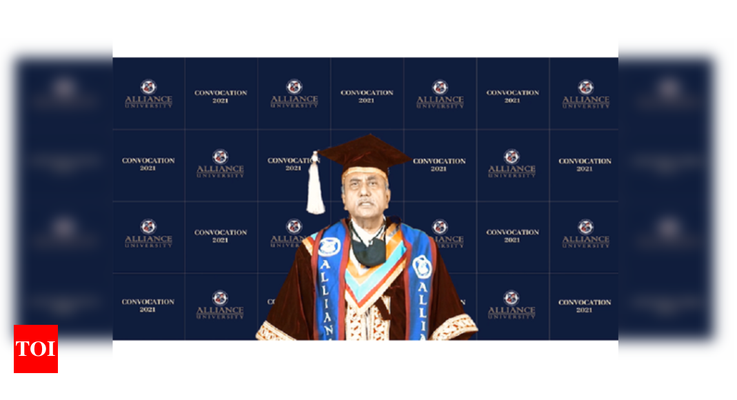 Alliance University confers degrees to over 4,500 students at its Convocation 2021 – Times of India
