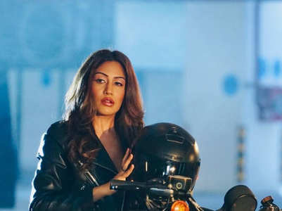 Surbhi Chandna's bossy looks in black outfits