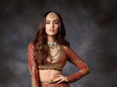 Shraddha Kapoor's ethnic looks are perfect for weddings