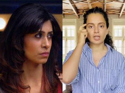 Kishwer to Kangana: 'Mask kahan hai madam?'