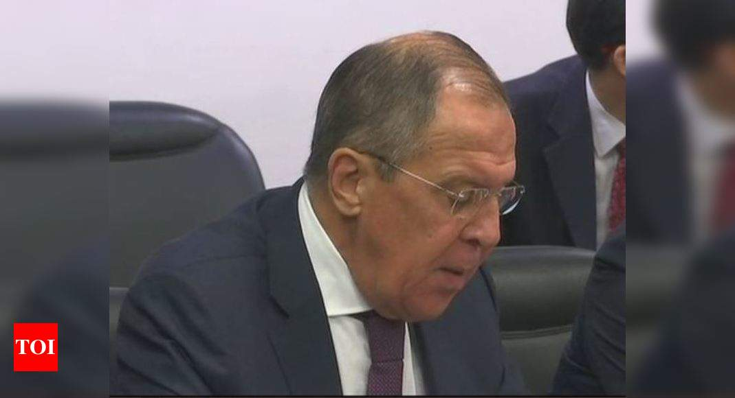 Russian foreign minister Lavrov arrives in India for two-day visit | India News – Times of India