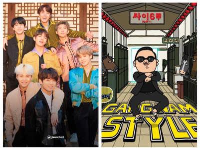 BTS' 'Dynamite' smashes 'Gangnam Style' record