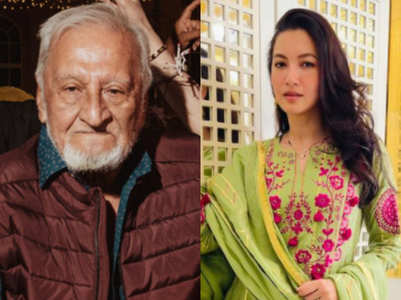 Gauahar Khan remembers her late father