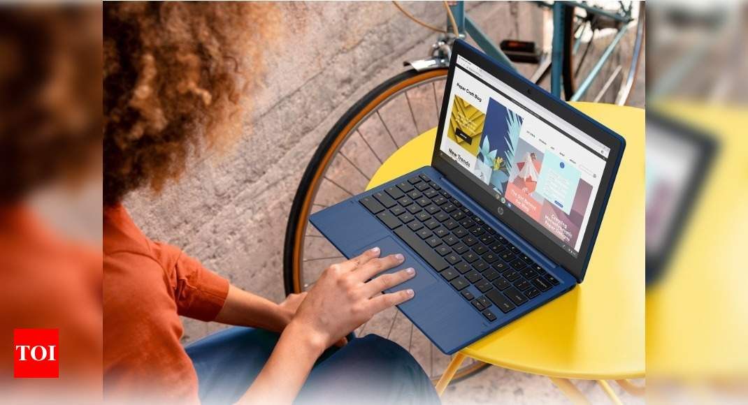HP launches its cheapest Chromebook laptop with touchscreen – Times of India