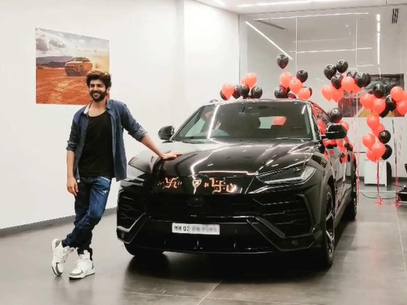 Kartik Aaryan poses with his swanky new ride worth crores – watch video!
