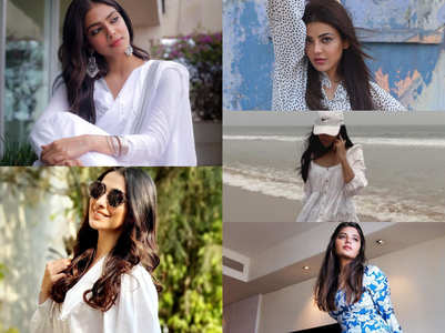 Celebs get their fashion game on point in white
