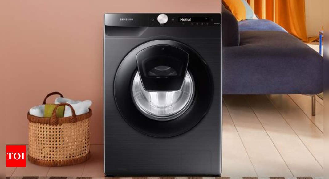 Samsung launches IoT-enabled washing machine range, price starts at Rs 35,400 – Times of India