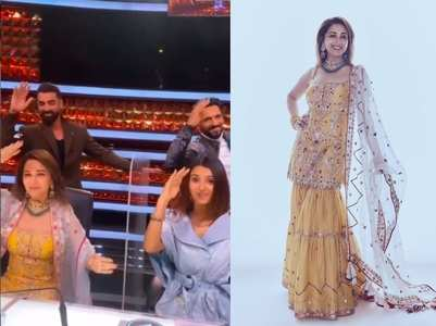 Watch: Madhuri Dixit dances to 'Ek Do Teen'