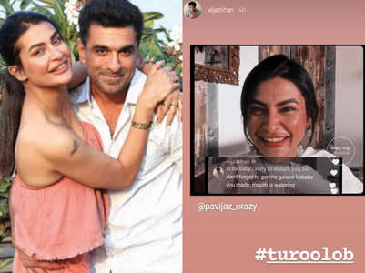 Eijaz cutely asks Pavitra to bring kebabs for him