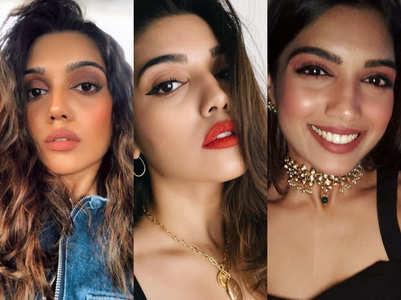 Beauty looks of Bhumi Pednekar's sister Samiksha Pednekar