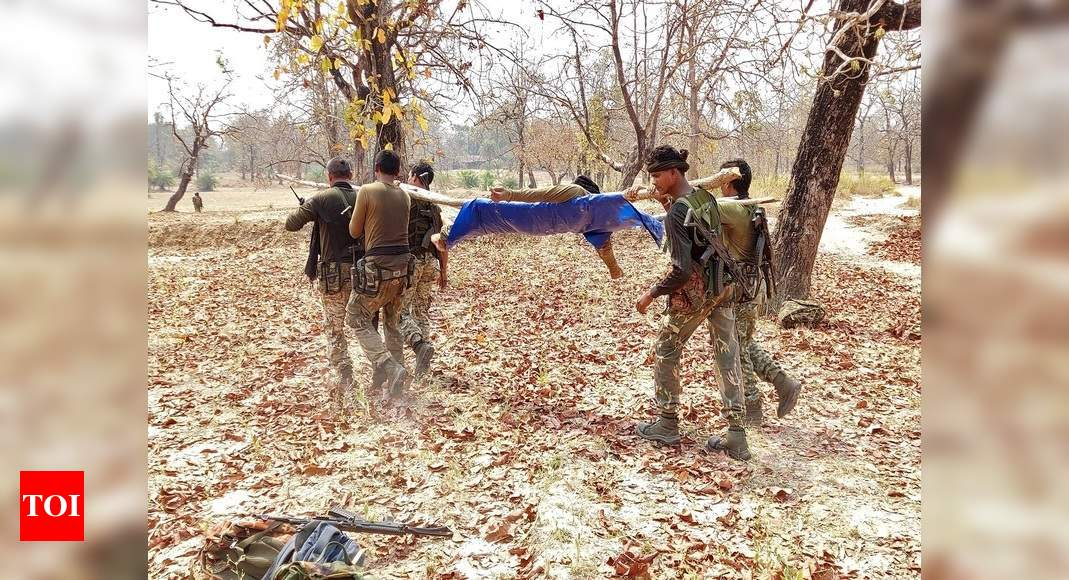 Chhattisgarh Maoist ambush: Viral audioclips recount valour of troops, wait for help | India News – Times of India