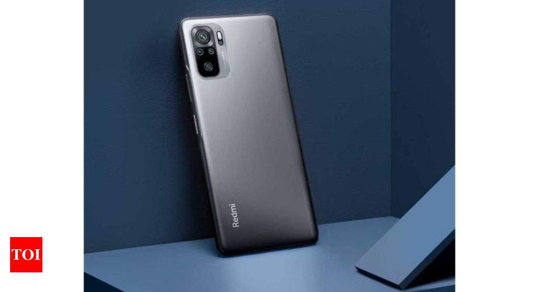 Redmi Note 10:  Redmi Note 10 with 6.43-inch Super AMOLED screen to go on sale today via Amazon – Times of India