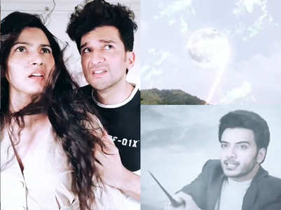 Manish, Sangeita on 'chand ka tukda' meme