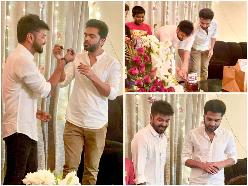 Silambarasan surprises Jai on his birthday