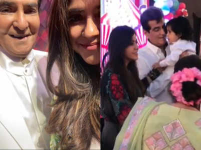 Ekta's sweet b'day note for father Jeetendra