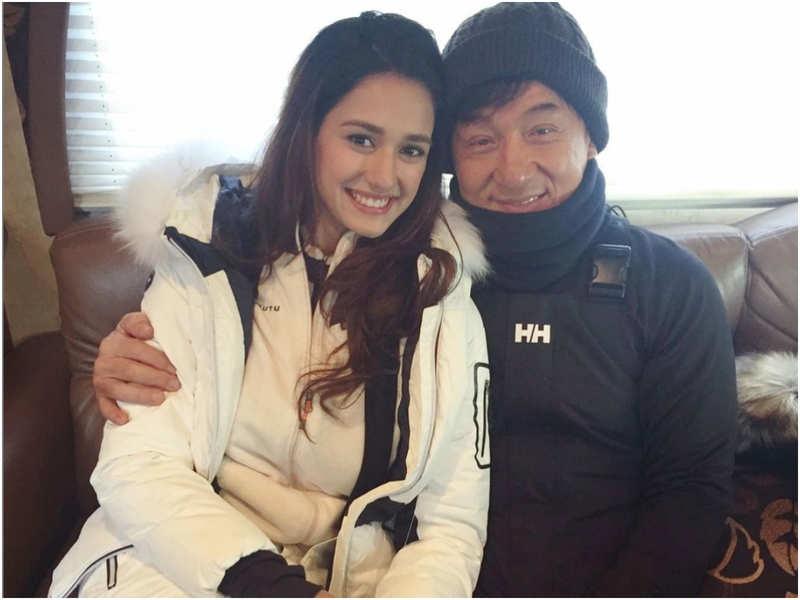 Disha Patani has the sweetest birthday wish for her 'Kung Fu Yoga' co-star Jackie Chan