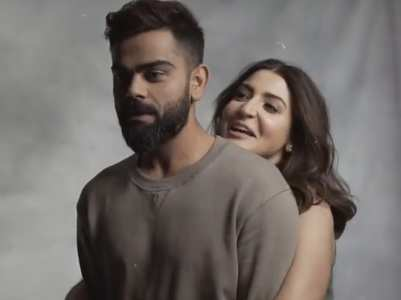 Anushka lifts hubby Virat in a goofy video
