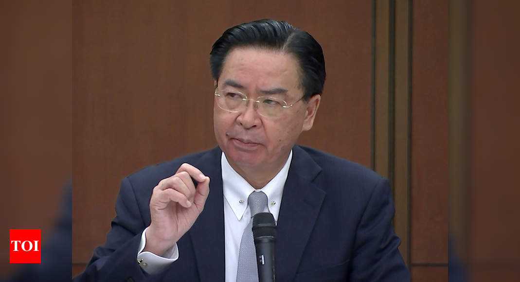 Taiwan News: Taiwan will fight 'to the very last day' if China attacks | World News – Times of India