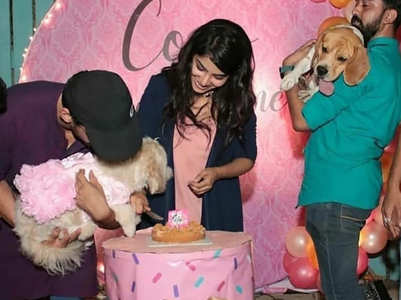 Celebrities who rang in their pet's birthdays