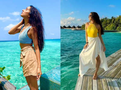 We are in awe of Shraddha Kapoor's beach vacation looks