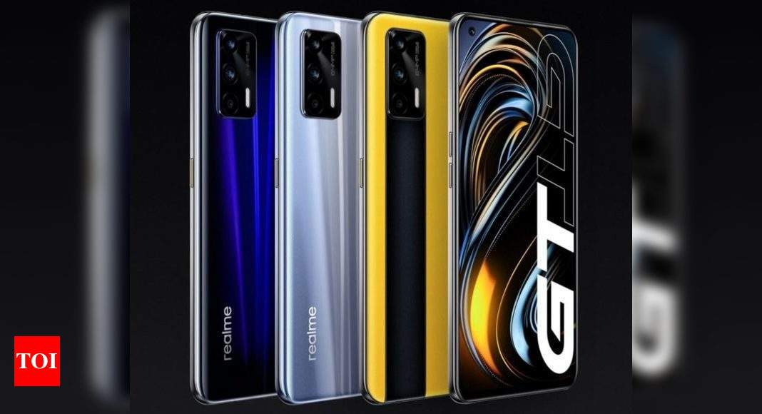 Realme GT, GT Neo smartphones to launch in India in May, confirms company – Times of India