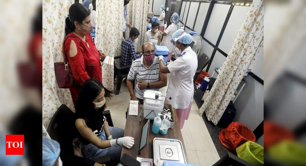 Centre allows Covid vaccination at public, private workplaces from April 11: All you need to know - Times of India