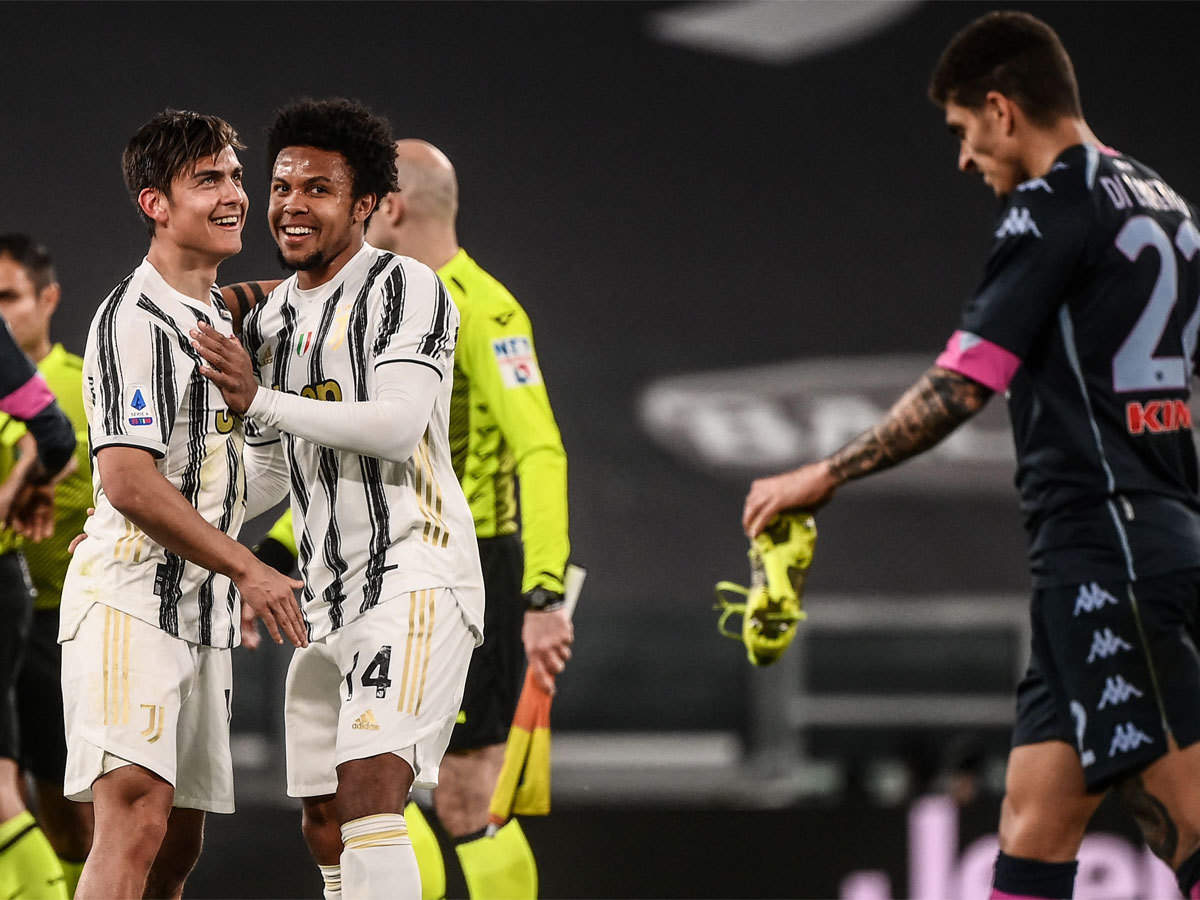 Serie A: Paulo Dybala makes stunning return as Juventus end slump with  Napoli win | Football News - Times of India