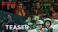 'Ajeeb Daastaans' teaser: Fatima Sana Shaikh, Armaan Ralhan and Aditi Rao Hydari starrer 'Ajeeb Daastaans' Official Teaser