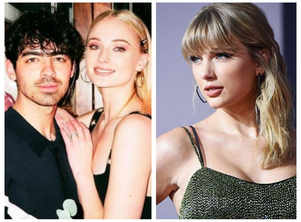 Taylor Swift bends the knee to Sophie Turner, amidst speculation that 'Mr Perfectly Fine' is about Joe Jonas