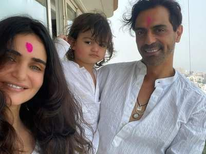 Arjun pens a sweet b'day note for Gabriella