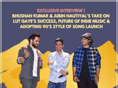 Bhushan & Jubin on 'Lut Gaye' success
