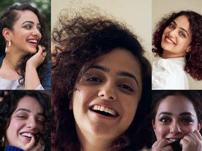 B'day girl Nithya Menen's sunny smiles