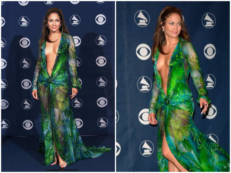 Did you know Jennifer Lopez's iconic Versace dress at the 42nd Grammy Awards led to the creation of Google Images  ?