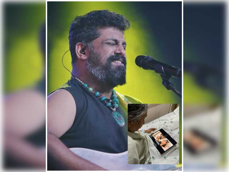 Raghu Dixit's mother watches the trailer of Ninna Sanihake