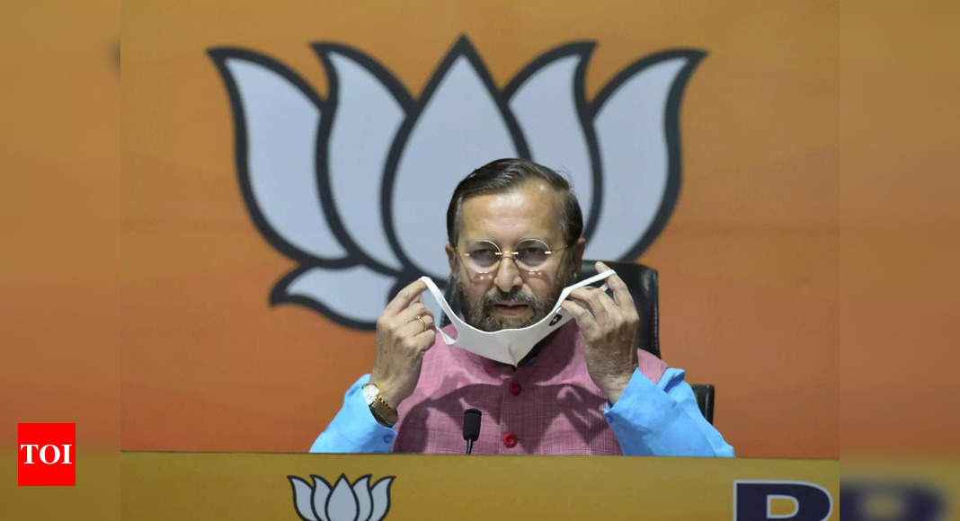 , Maharashtra govt wasted 5 lakh doses of Covid vaccines due to lack of planning: Javadekar, The World Live Breaking News Coverage & Updates IN ENGLISH