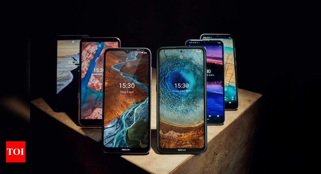 HMD launches X-series, G-series and C-series globally; announces six new smartphones – Times of India
