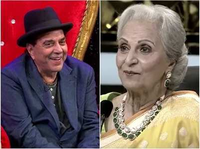 Dharmendra's crush on Waheeda Rehman
