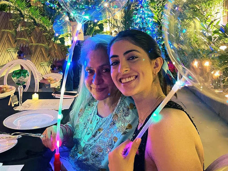 Navya Naveli Nanda shares throwback pictures of nani Jaya Bachchan on her birthday