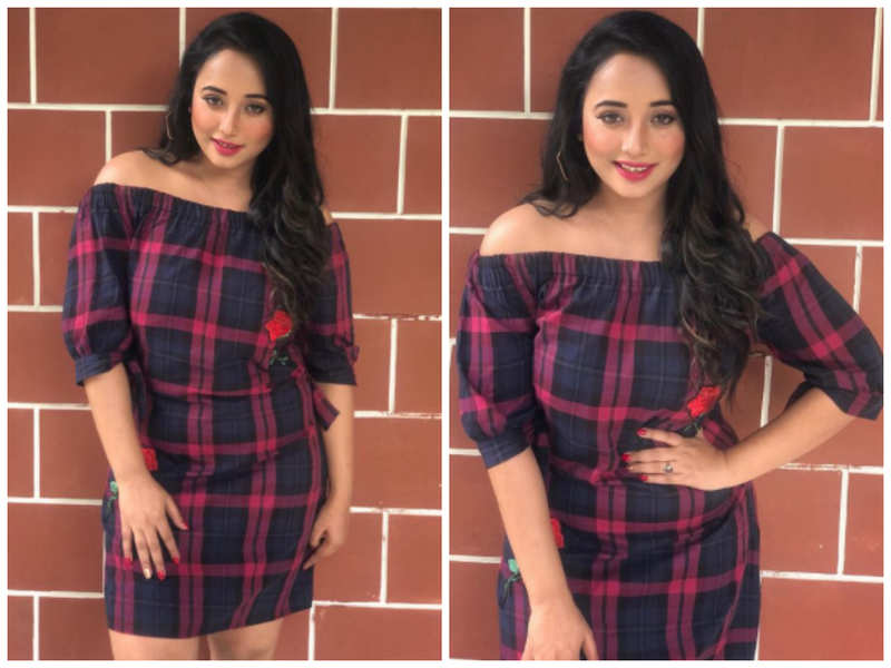 Rani Chatterjee shares some BTS pictures of herself from the sets of her upcoming venture
