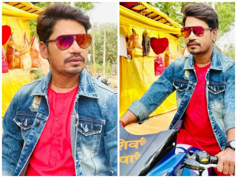 Pravesh Lal Yadav unveils his look from 'Preetam Pyare'